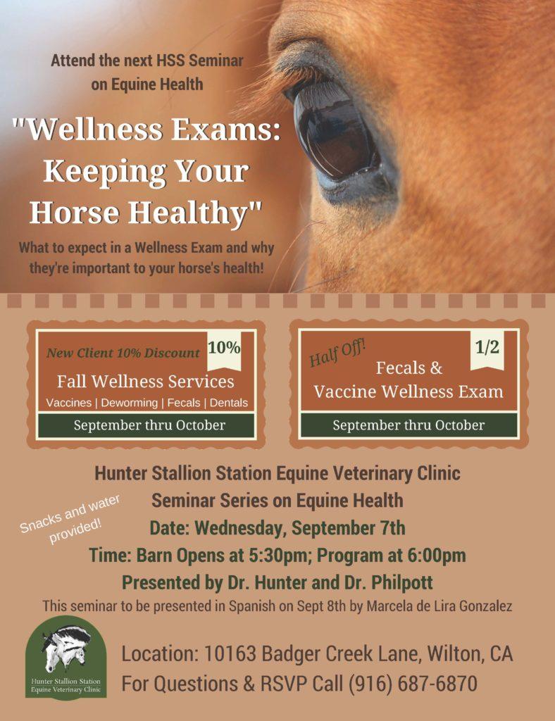 Wellness Exams Flyer